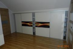 drzwi do szafy z zabudową wnęki