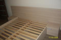 Łóżko i szuflady